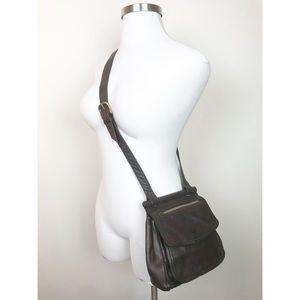 Fossil Vintage Leather crossbody purse satchel